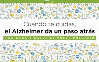 """Coneix la nostra campanya de conscienciació """"Quan et cuides, l'Alzheimer fa un pas enrere"""""""