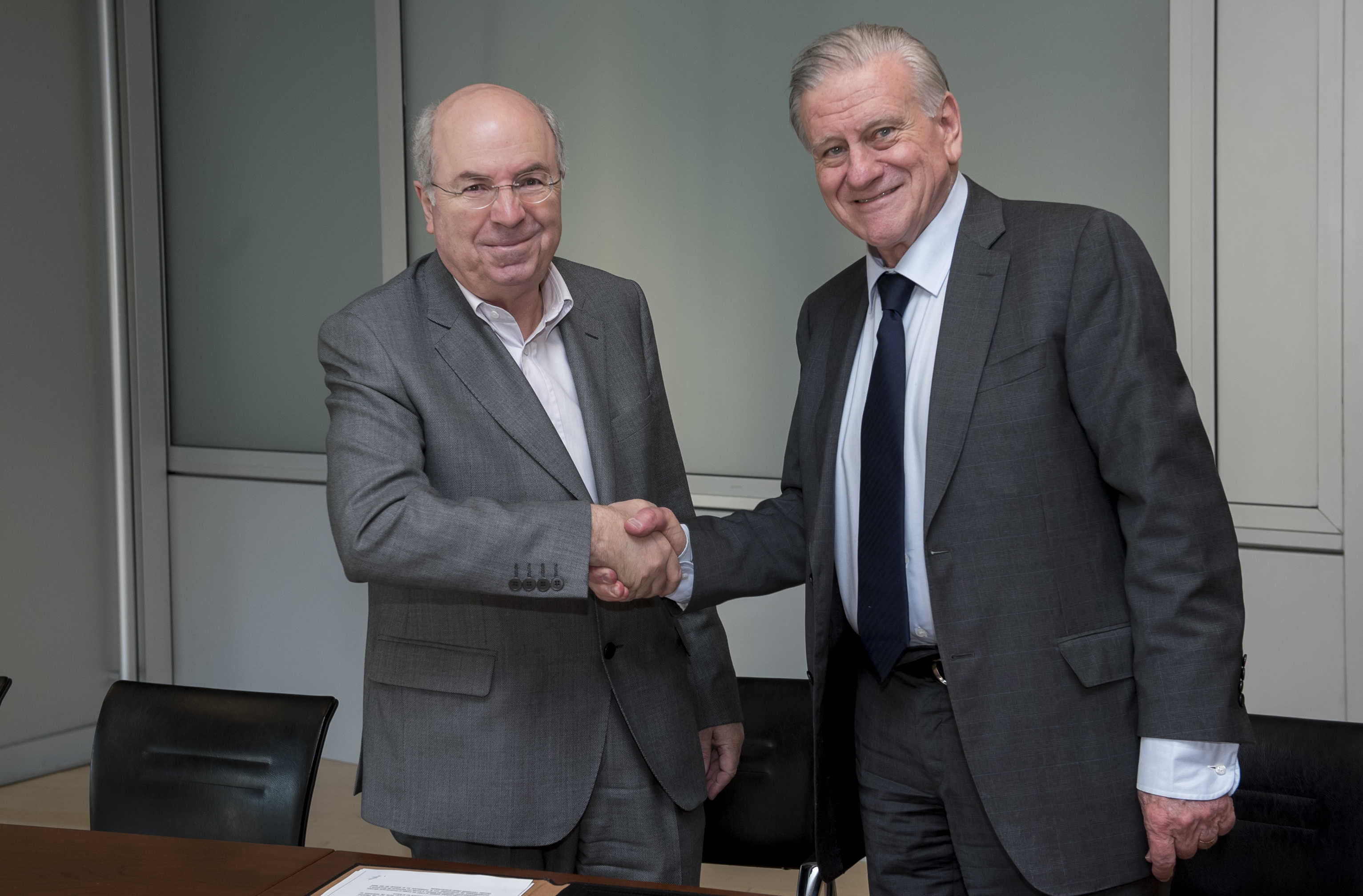 Acuerdo entre la Fundación Pasqual Maragall y el CNIC.
