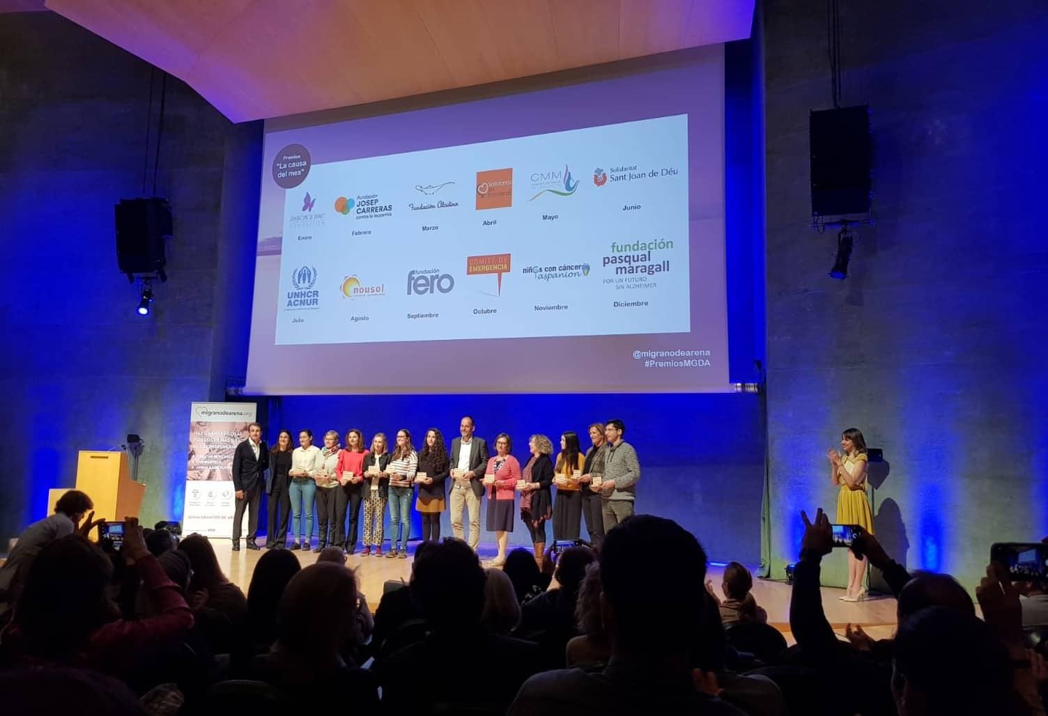 La Fundació Pasqual Maragall va ser lentitat social amb més donacions a migranodearena.org durant el mes de març