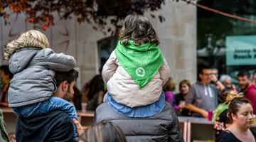 El modador solidari del bar El Cafetó va ser el símbol de la festa