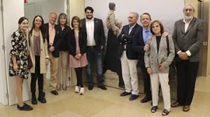 Membres del Rotary Club Barcelona Pedralbes durant la seva visita a la Fundació Pasqual Maragall