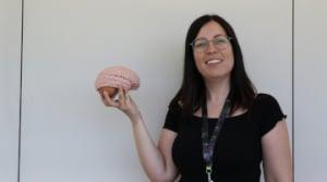 Anna Brugulat és la primera investigadora en fer la seva tesi doctoral al BBRC