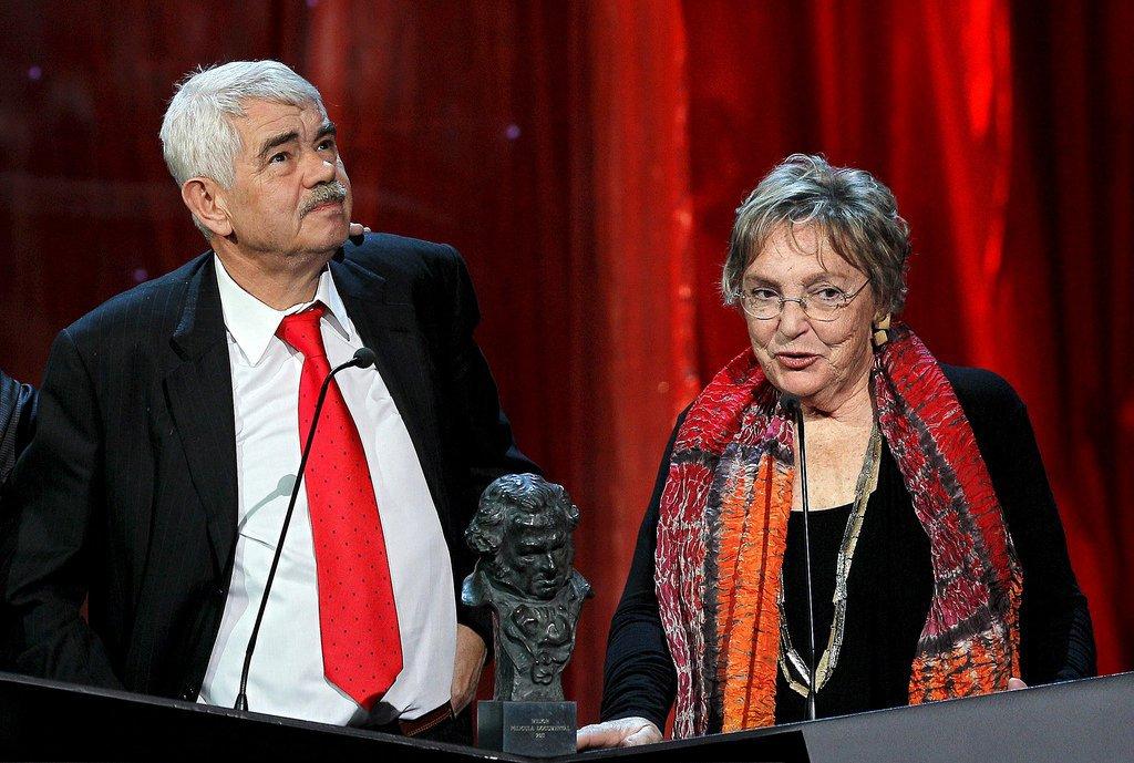 Pasqual Maragall i Diana Garrigosa Goya