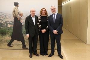 Jordi Camí, Cristina Maragall i Arcadi Navarro