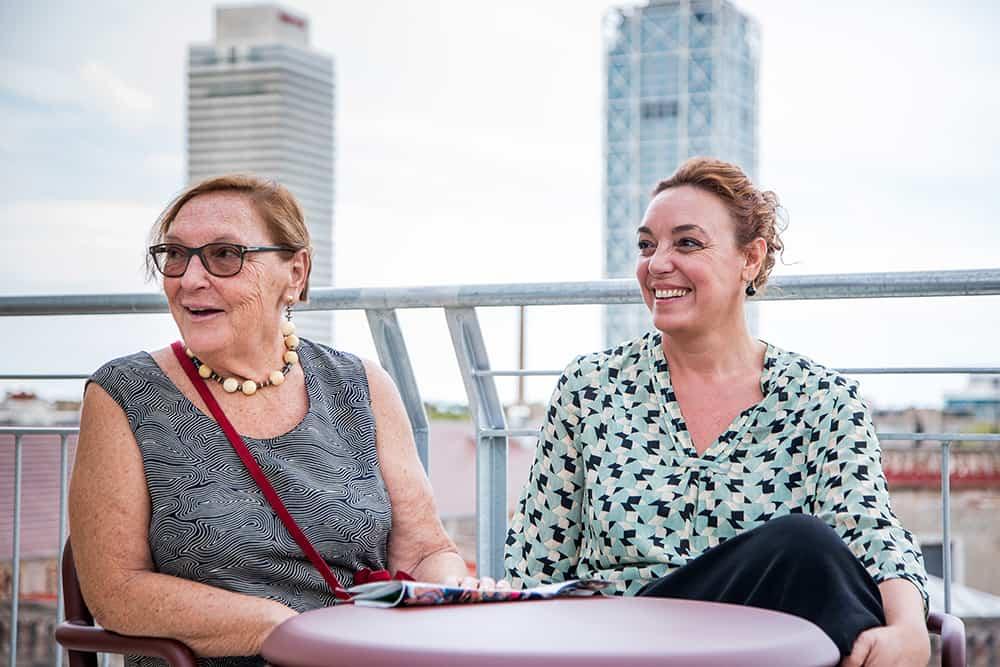 Diana Garrigosa i Cristina Maragall