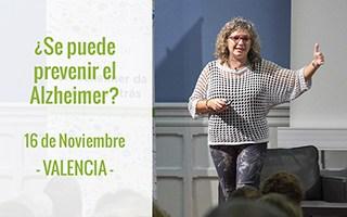 Nos vamos a Valencia para hablar de investigación y prevención del Alzheimer. ¿Te apuntas?