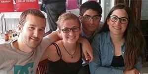 Martí, Maria, Marc y Nina celebraron su aniversario de