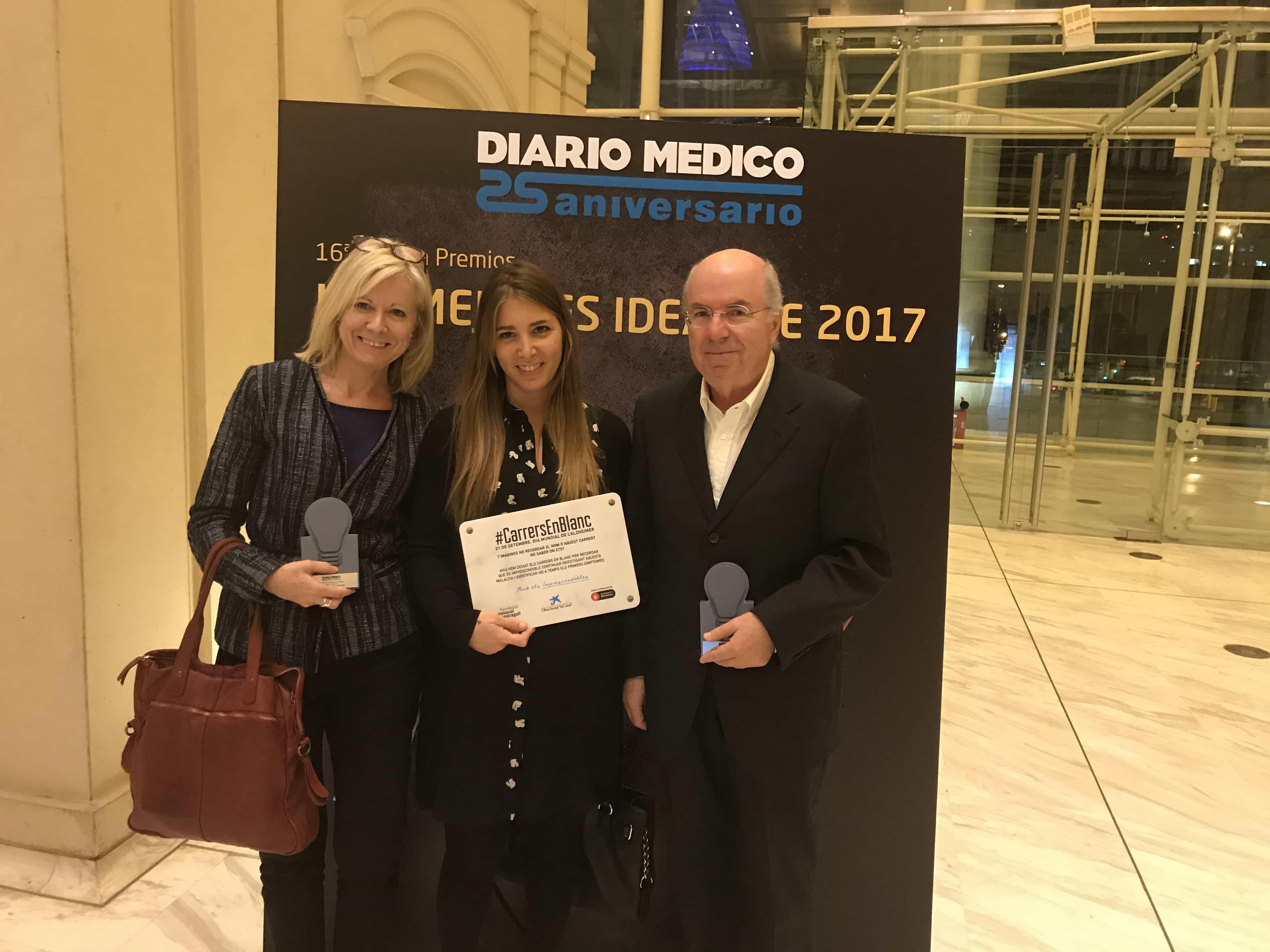 Premio Mejores Ideas para la Obra Social la Caixa y la Fundación Pasqual Maragall