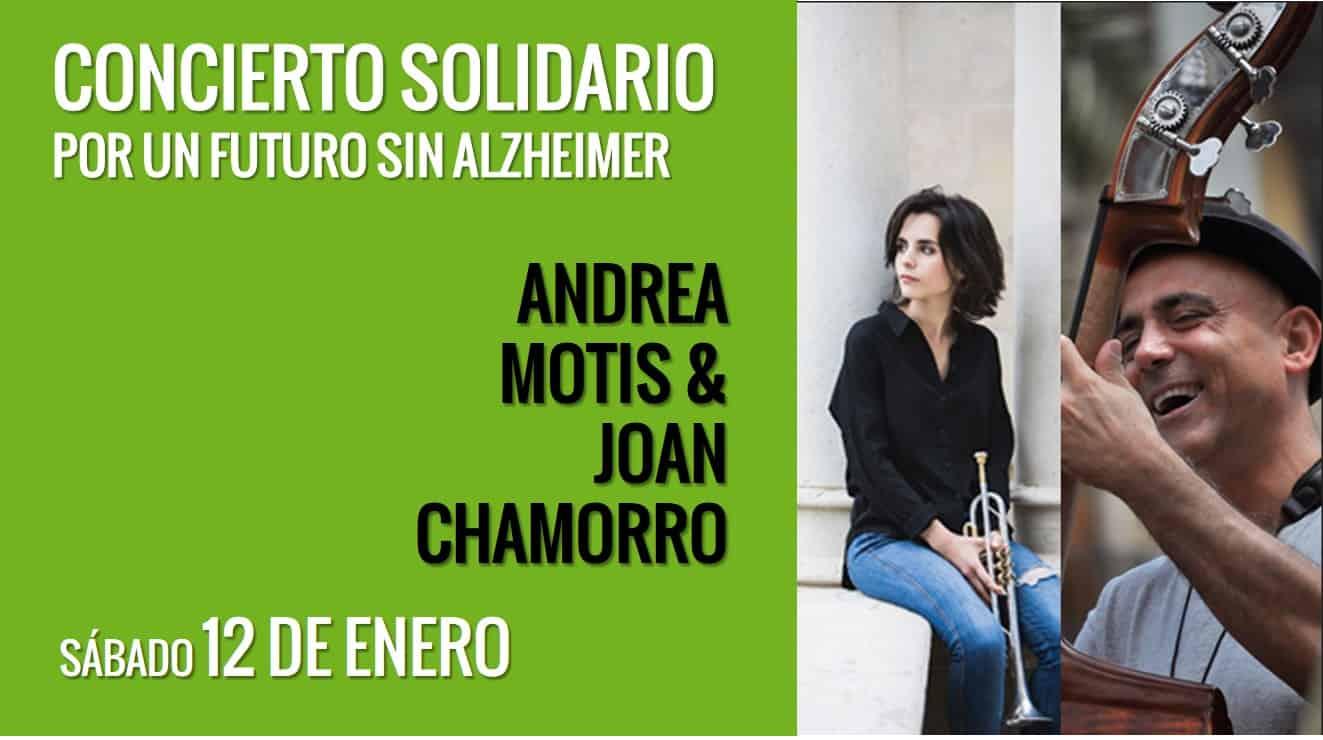 Andrea Motis y Joan Chamorro en concierto por un futuro sin Alzheimer