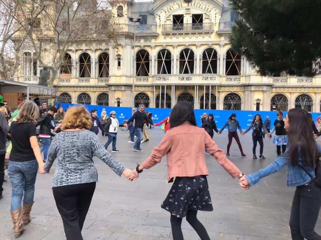 Las jornadas de baile en el Puerto de Barcelona recaudaron hasta 700 euros para la Fundación