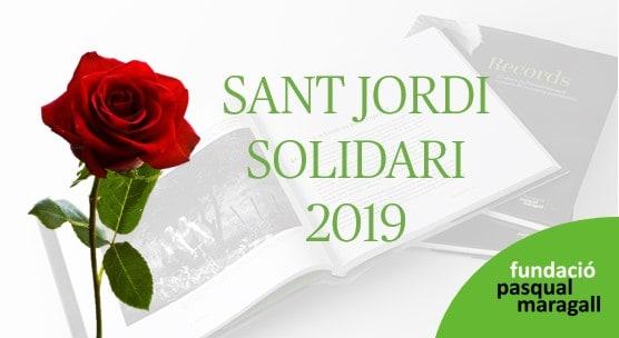 Venta de rosas y el libro Recuerdos en Barcelona por Sant Jordi