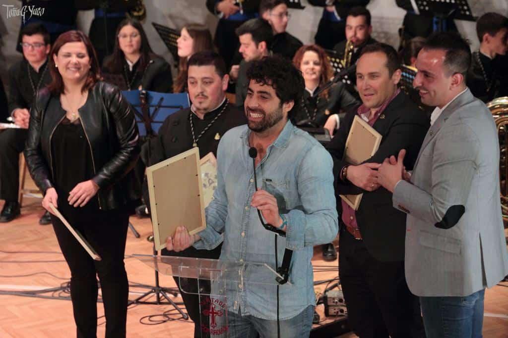 El cantante Señor Gañán en su concierto en Ocaña