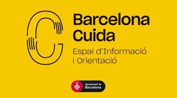 Logo del espacio municipal Barcelona Cuida