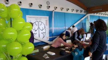 La parada de la Fundació Pasqual Maragall al Charity Day de HP