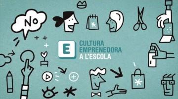 Imagen del programa Cultura Emprenedora, programa del que es parte la iniciativa de la escuela El Garrofer