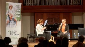 El acto de la Fundación Pasqual Maragall en Girona se cerró con la actuación del Cor Geriona
