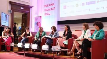 Imagen de la mesa redonda de ciencia en el Imatge de la taula rodona sobre ciència al Women Business & Justice European Forum