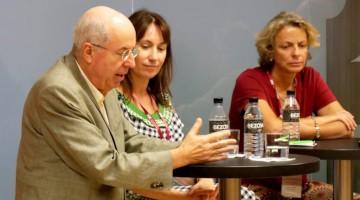 El Dr. Jordi Camí durante su intervención en el debate del Consorcio de Salud de Cataluña