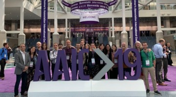 El equipo de investigadores del BBRC asistente a la Alzheimer's Association International Conference 2019