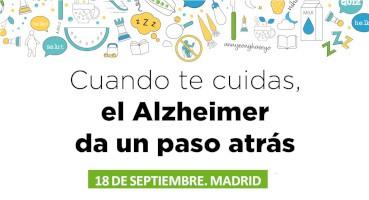 """La campaña """"Cuando te cuidas, el Alzheimer da un paso atrás"""" llega a Madrid"""