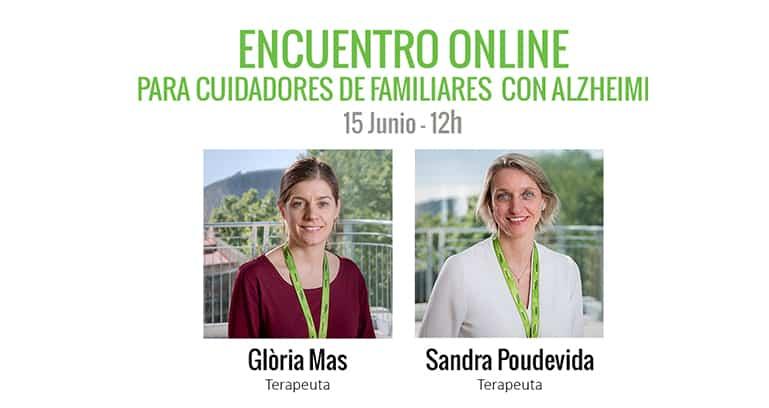 Encuentro Online para cuidadores de familiares con Alzheimer
