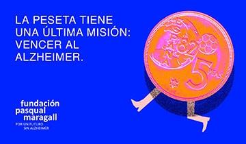 La última misión de la peseta: vencer al Alzheimer <br />- 2020 -