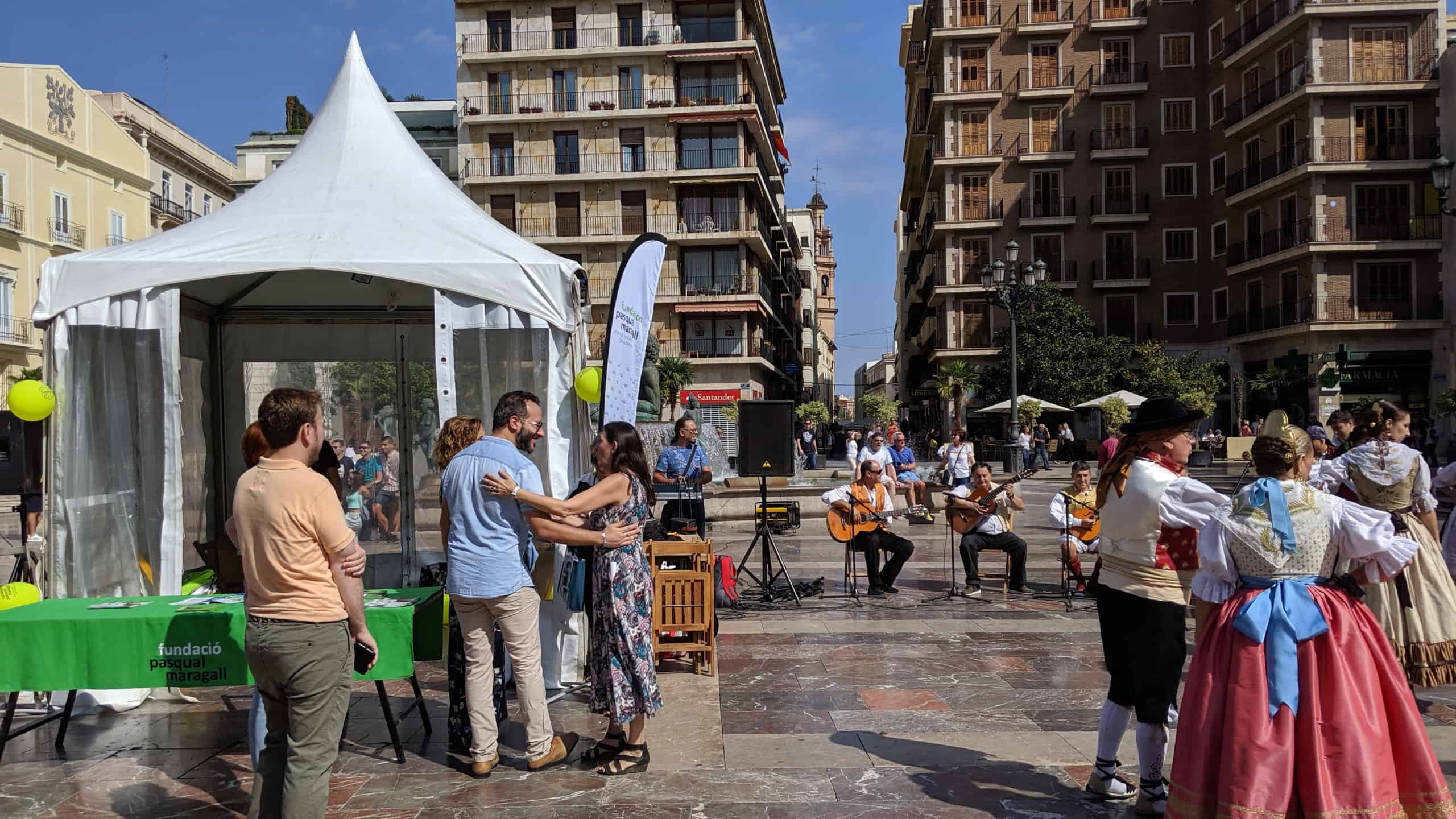 Jornada festiva en Valencia para celebrar el Día Mundial del Alzheimer